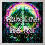 Make Love Not War Poster