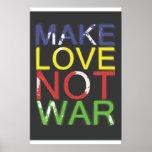 Make Love Not War Posters