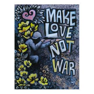 Make Love, Not War: Propaganda Products Postcard