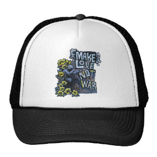 Make Love, Not War: Propaganda Products Trucker Hat