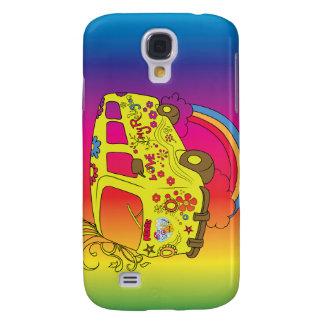 Make Love Not War Van ~ 60s Hippie Peace Samsung Galaxy S4 Cover
