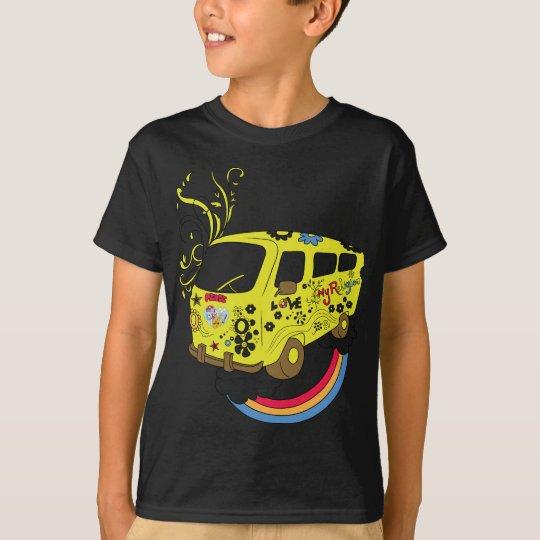 Make Love Not War Van ~ 60s Hippie Peace Sign T-Shirt