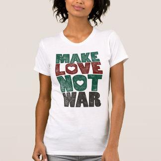 Make Love Not War, Vintage - Customized Tee Shirt
