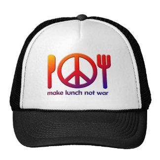 Make Lunch Not War Trucker Hat