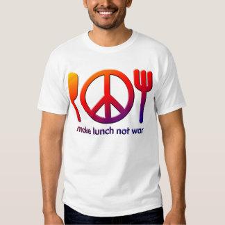 Make Lunch Not War Shirt