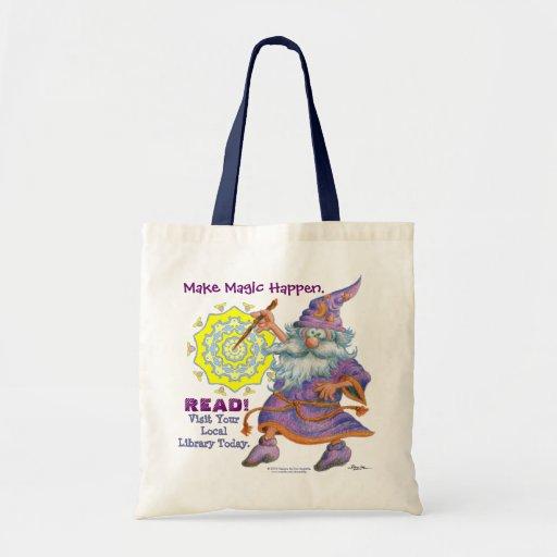 Make Magic Happen.  READ! Budget Tote Bag