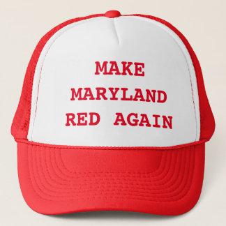 Make Maryland Red Again Trucker Hat