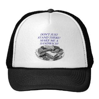 make me a sandwich! trucker hat