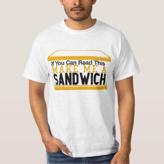 Make me a Sandwich Internet Meme Tee Shirts