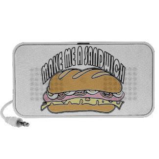 Make Me A Sandwich PC Speakers