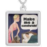 Make me a sandwich pendant
