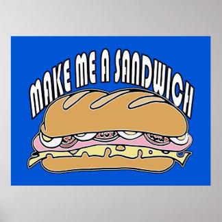 Make Me A Sandwich Print