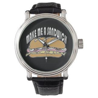 Make Me A Sandwich Wrist Watch