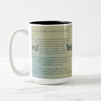Make Me An Instrument Two-Tone Coffee Mug