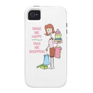 MAKE ME HAPPY iPhone 4 CASES
