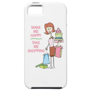 MAKE ME HAPPY iPhone 5 COVERS