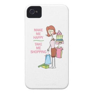 MAKE ME HAPPY iPhone 4 CASE