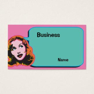 Make Me Laugh Business Card