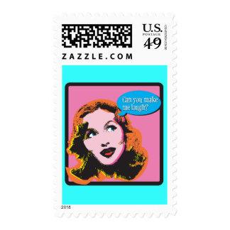 Make Me Laugh Postage Stamps