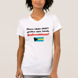 Make Me Look Bahamian Women's Light Shirts