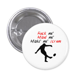 Make Me Scrum Pinback Button