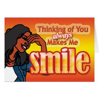 Make me Smile Card