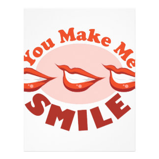 Make Me Smile Letterhead