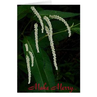 Make Merry Greeting Card
