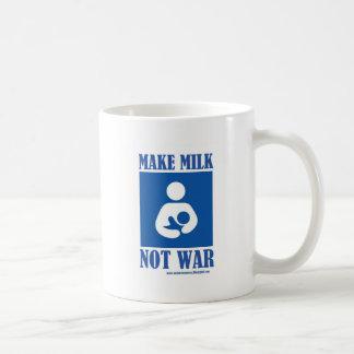 Make MILK NOT WAR Mugs