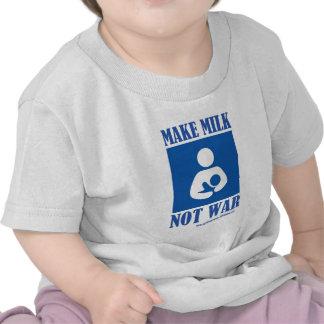 Make MILK NOT WAR Shirt