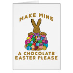 Make Mine A Chocolate Easter Cards