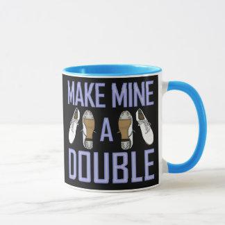 Make Mine a Double Clogging Mug