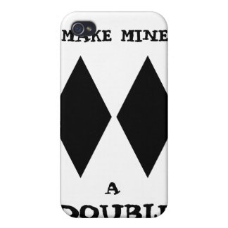 Make Mine a Double iphone Case