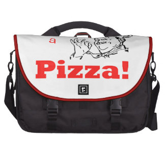 Make Mine a Pizza! Bags For Laptop
