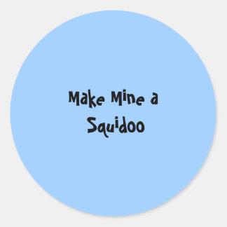 Make Mine a Squidoo - Sticker