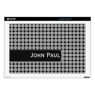 Make Mine Black and White Decals For Laptops
