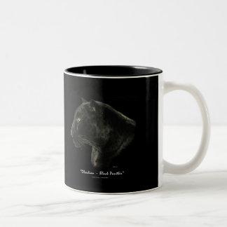 """MAKE MINE BLACK!"" Black Panther Jaguar Coffee Mug"