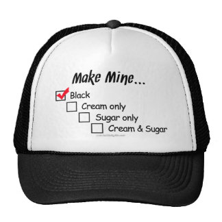 Make Mine Black... Trucker Hat