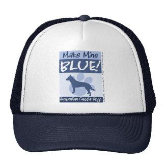 Make Mine Blue Mesh Hats