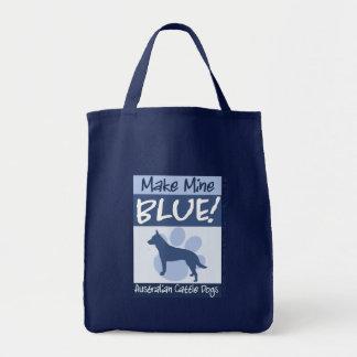Make Mine Blue Tote Bag