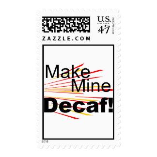 Make Mine Decaf! Postage