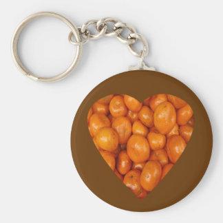 Make Mine Orange Keychain
