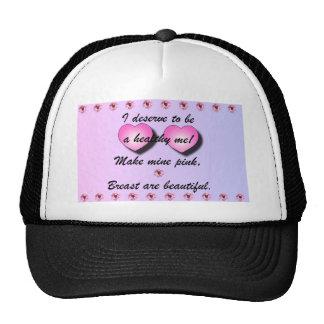 MAKE MINE PINK TRUCKER HAT