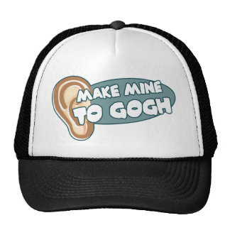 Make Mine To Gogh Trucker Hat