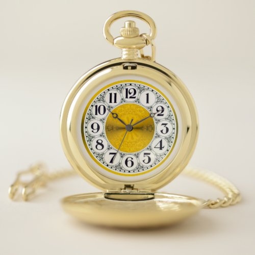 Make Mine Vintage Pocket Watch