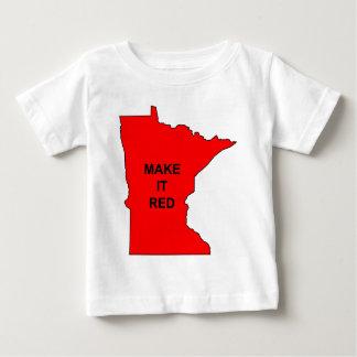 Make Minnesota Red Baby T-Shirt
