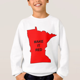 Make Minnesota Red Sweatshirt