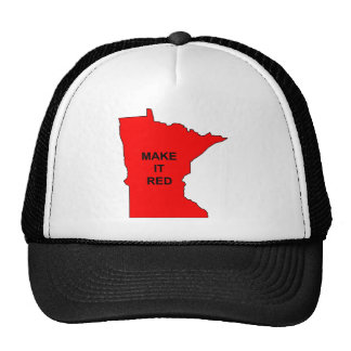 Make Minnesota Red Trucker Hat