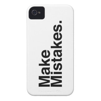 Make Mistakes iPhone 4 Case-Mate Case