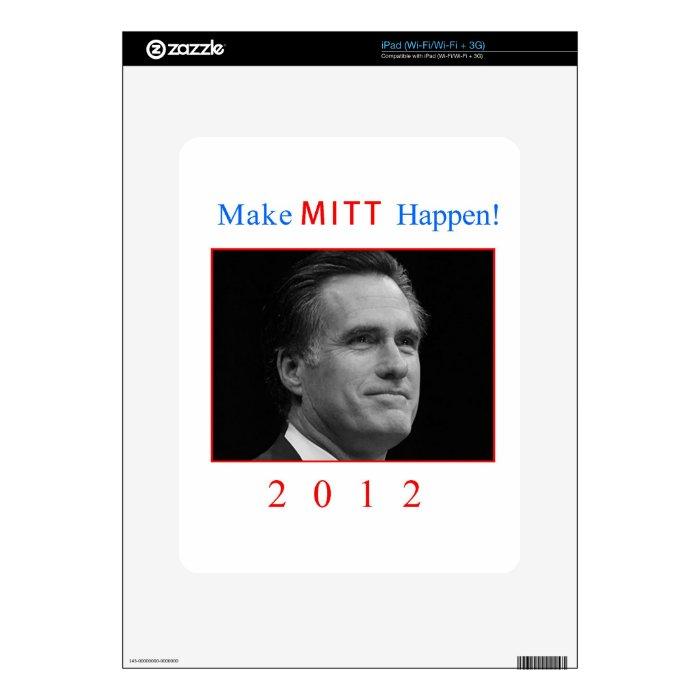 Make Mitt Happen! iPad Decal